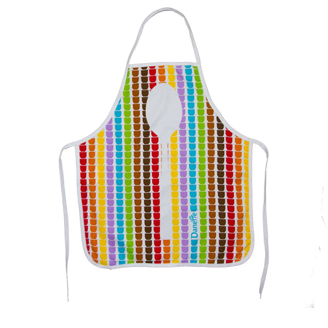 2018 KEFEI 100% Cotton Printed Child Apron