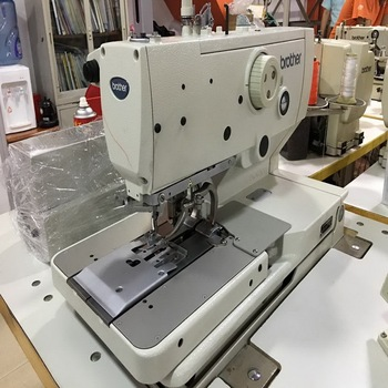 Used Japan Brother 40 Eyelet Button Hole Industrial Sewing Machine Amazing Brother Button Sewing Machine