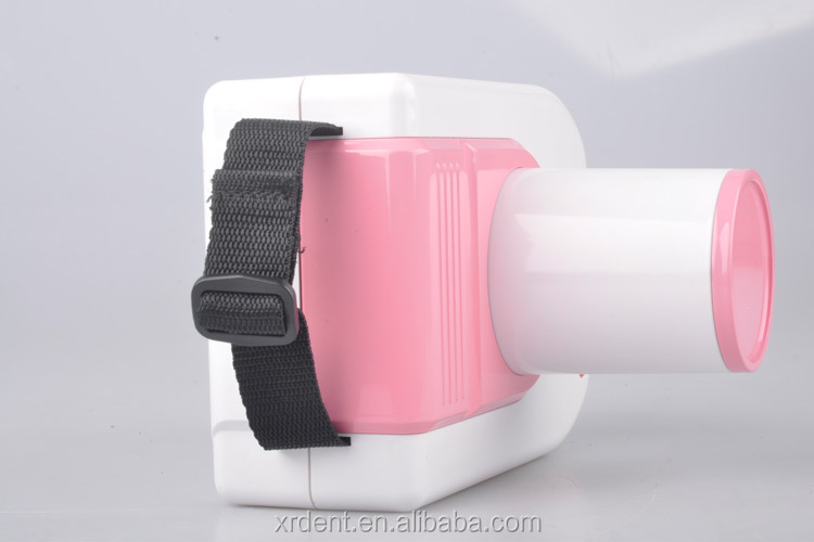 Charming Pink Color Digital Portable Dental X-ray Unit
