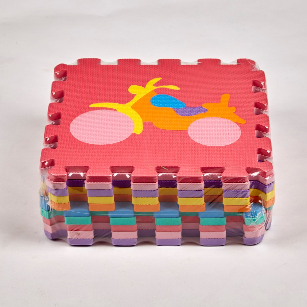 High quality eco-friendly odorless skidproof lovely eva foam number and letter puzzle mat for baby