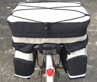 Bicycle Saddle Bag of big storage and multiple pockets for travelers