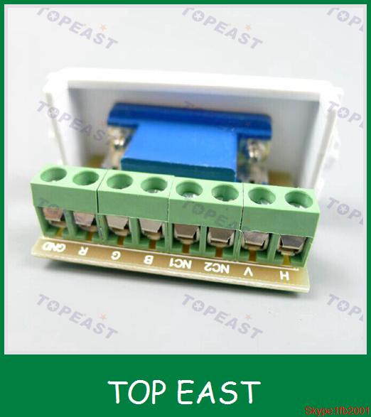 free solder 3 4 wall plug socket wiring vga panel wall plate 86 rh alibaba com Audio Wall Plate VGA Wall Plate Home Depot