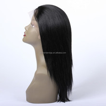 ponytail lace front wig bald man wig machine made wig