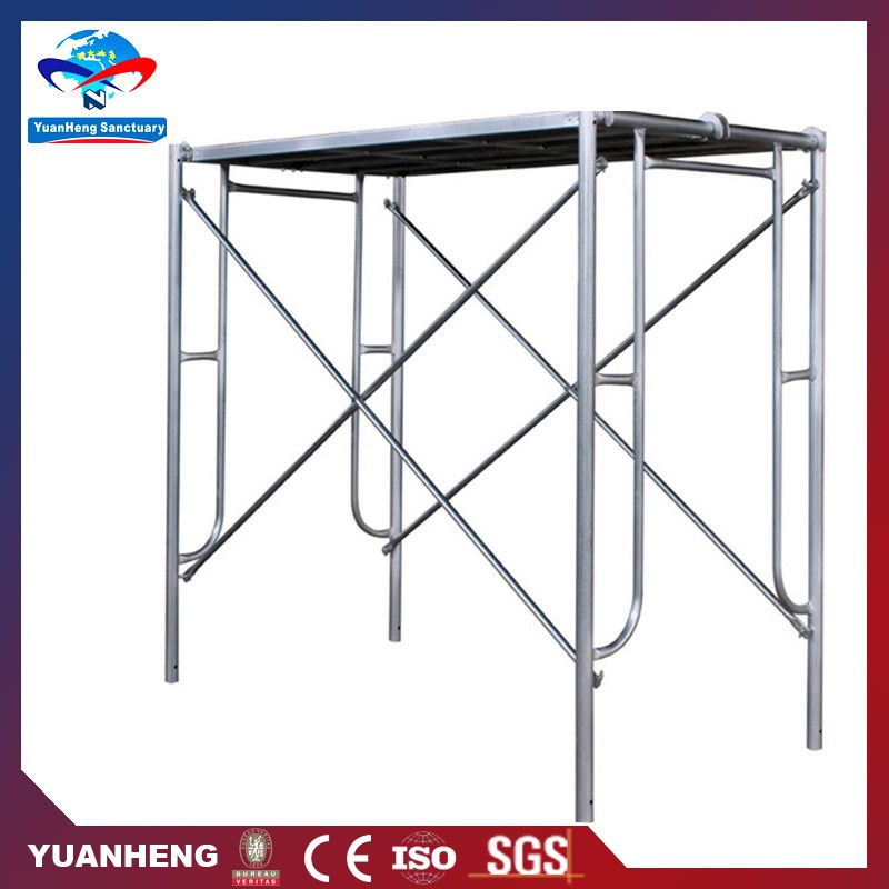 Numerous in variety standard H frame adjustable scaffolding sizes