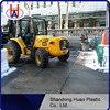 Recycled plastic road mat / black hdpe temporary road mats manufacturer