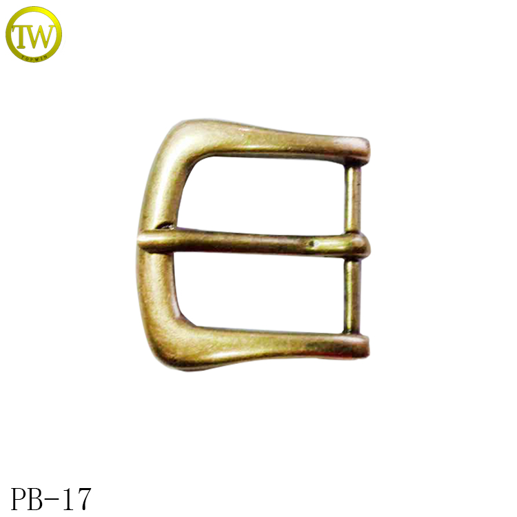PB16 Western Pin turning buckles for belt metal Reversible buckle 3cm pin buckle
