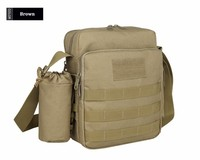 [Wuhan YinSong] Airsoft Molle Tactical Outdoor 3-Way Small Pouch Nylon Wading Chest Pack Cross body Sling Single Shoulder Bag