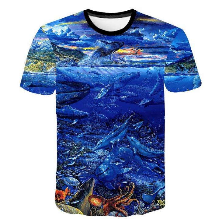 7d930250f477 China fish t-shirt wholesale 🇨🇳 - Alibaba