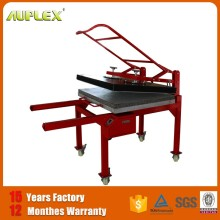 Cheap 80*100 cm Manual Large size fabrics heat press machine for sale