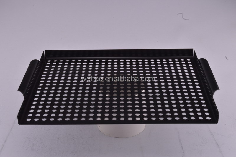 40cm high quality metal grill pan