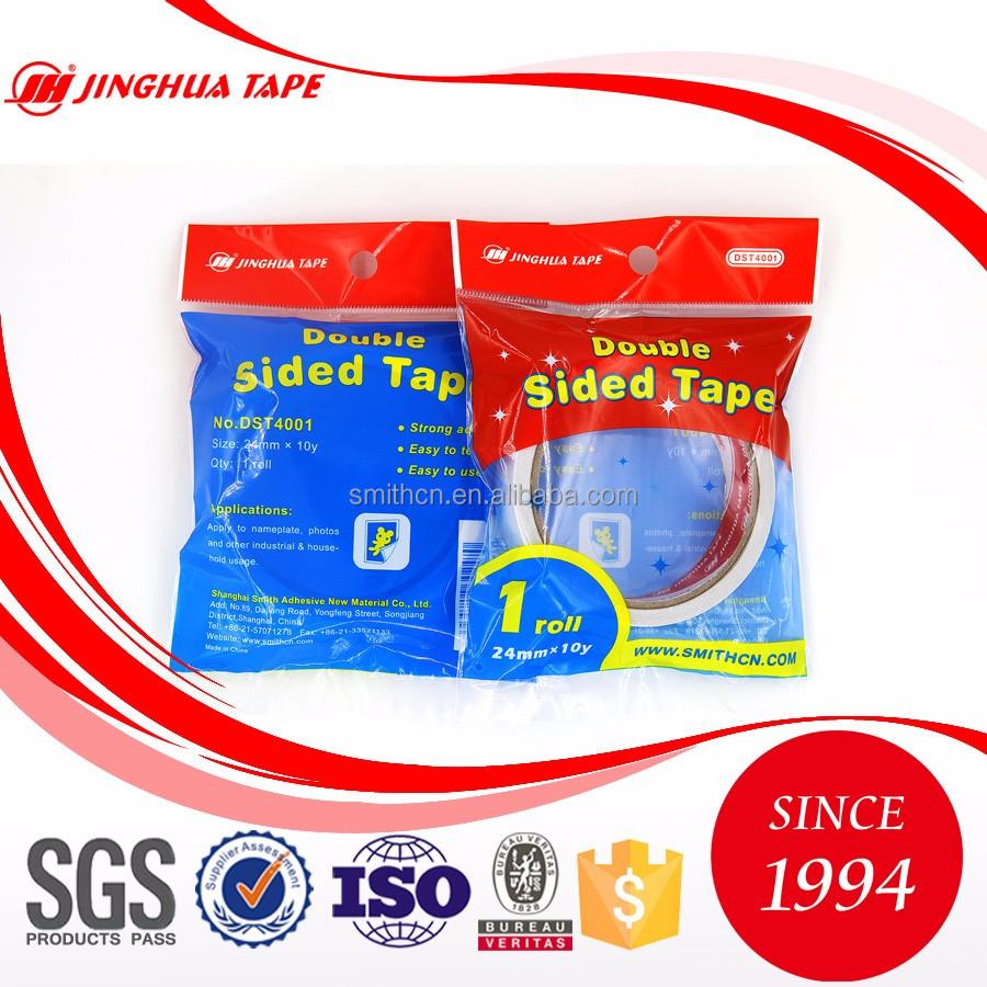Pago seguro impermeable cinta adhesiva de doble cara tejido para ...