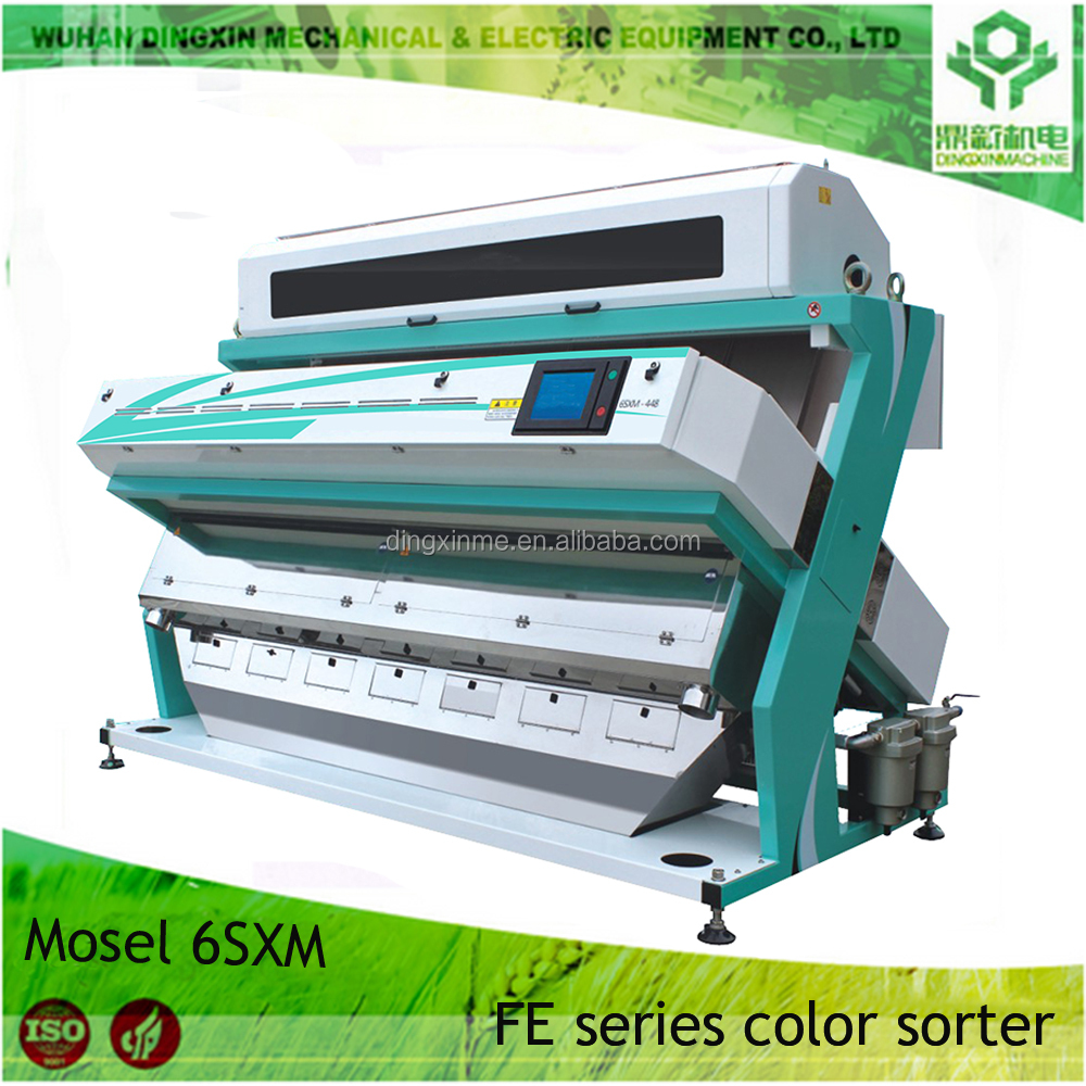 Good service high quality machine 10-18T/h rice wheat grain color sorter