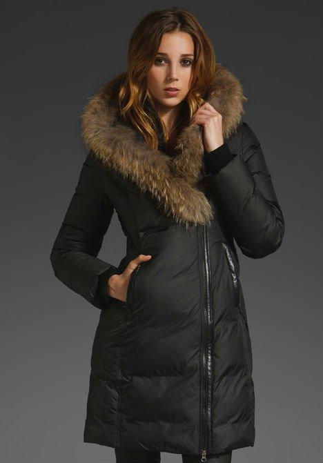 manteau femme hiver avec fourrure. Black Bedroom Furniture Sets. Home Design Ideas