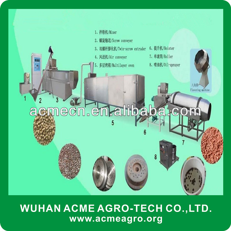 ACME Pet/Fish Feed Making Machine,Oatmeal production line