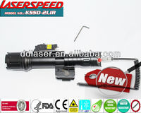 Laserspeed Tactical Red Laser Sight And Led Light Combo