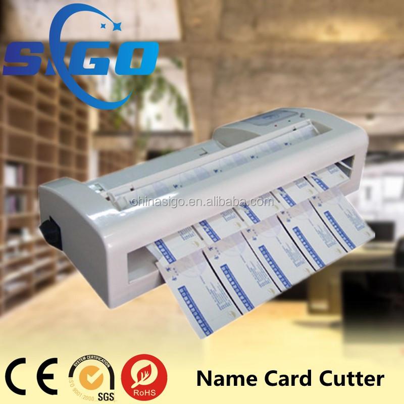 006-a4 Business Card Cutting Machine,Id Card Cutter,Electric Pvc ...