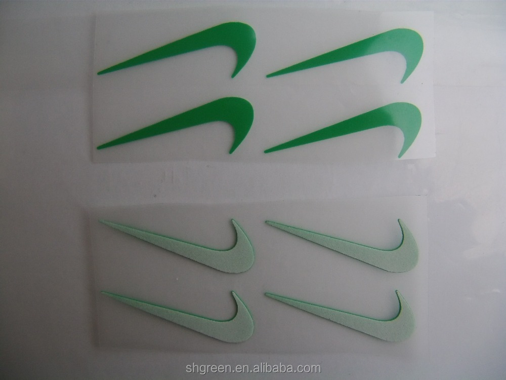 3D silicone embossed heat transfer sticker