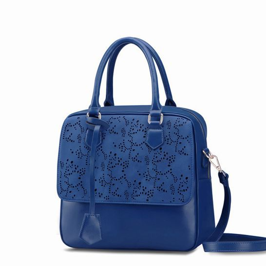 Promotion!!!2015~hot selling~Fashion Elegant Hollow pattern Women PU Leather handbag\bag~Free Shipping13B19