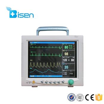 Bs-cms7000 Professional Medical Monitors Veterinary Capnograph Patient  Hospital Use Cheap Vital Signs Monitor - Buy Multi-parameter Patient