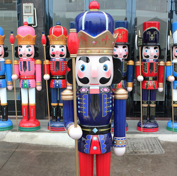 wooden crafts christmas decoration life size nutcracker - Life Size Nutcracker Outdoor Christmas Decorations