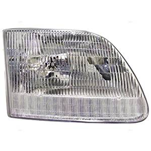 97-03 Ford F150 Headlamp Assy Rh Exc Lightning/Harley Davidson 04 Ford F150 Heritage Exc Lightning 97-99 Ford F250Ld 97-02 Ford Expedition Capa Certified
