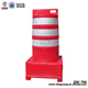 DingTian01 Orange Portable Construction Road Safety Barrier Plastic Traffic Barrel