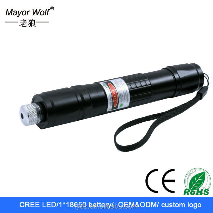 red/green rotation zoom laser beam dot flashlight light
