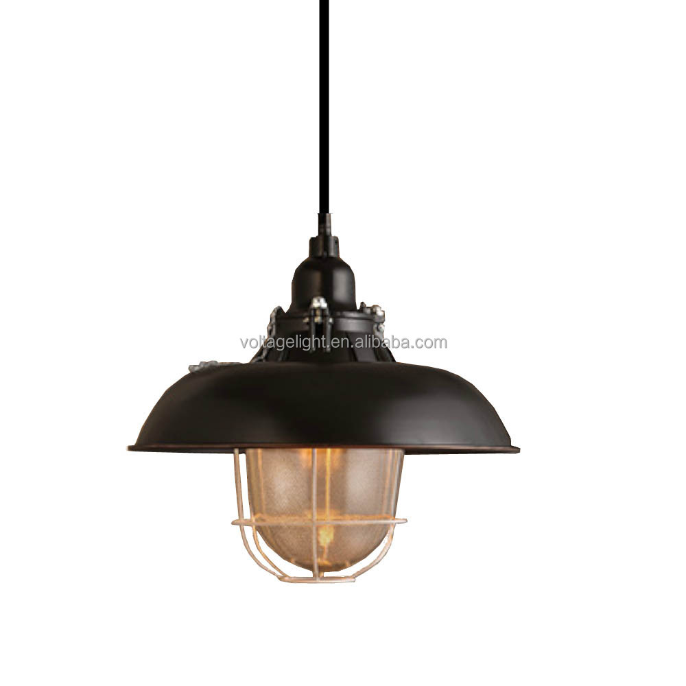 Industrial Pendant Lighting Vintage Lamp Pendant Light Edison Bulb Restaurant Decorative Haning Pendant Light