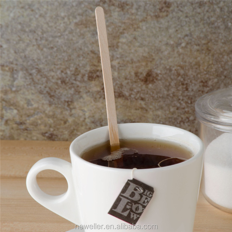 beauty and personal round starbucks wood coffee stirrers with cover