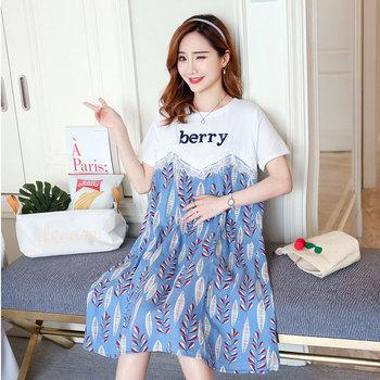 6522fa194319a NS3155 Korean Fashion Wholesale Ladies Maternity Dress Clothing ...