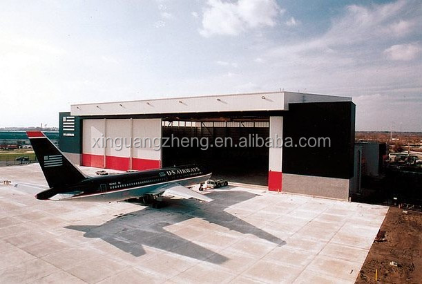 Customized steel airplane aircraft arch hangar