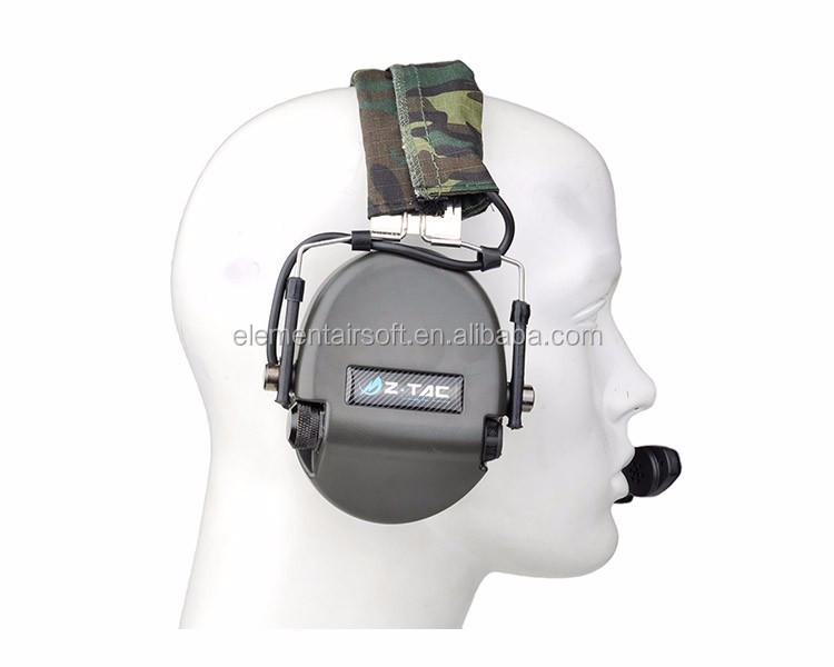 ZTAC Z110 FG Z Tactical zTEA Hi Threat Tier 1 Headset with Noise Reduction