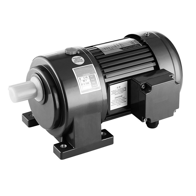 220 volt 3700w ac electric gear motor with speed control inveter