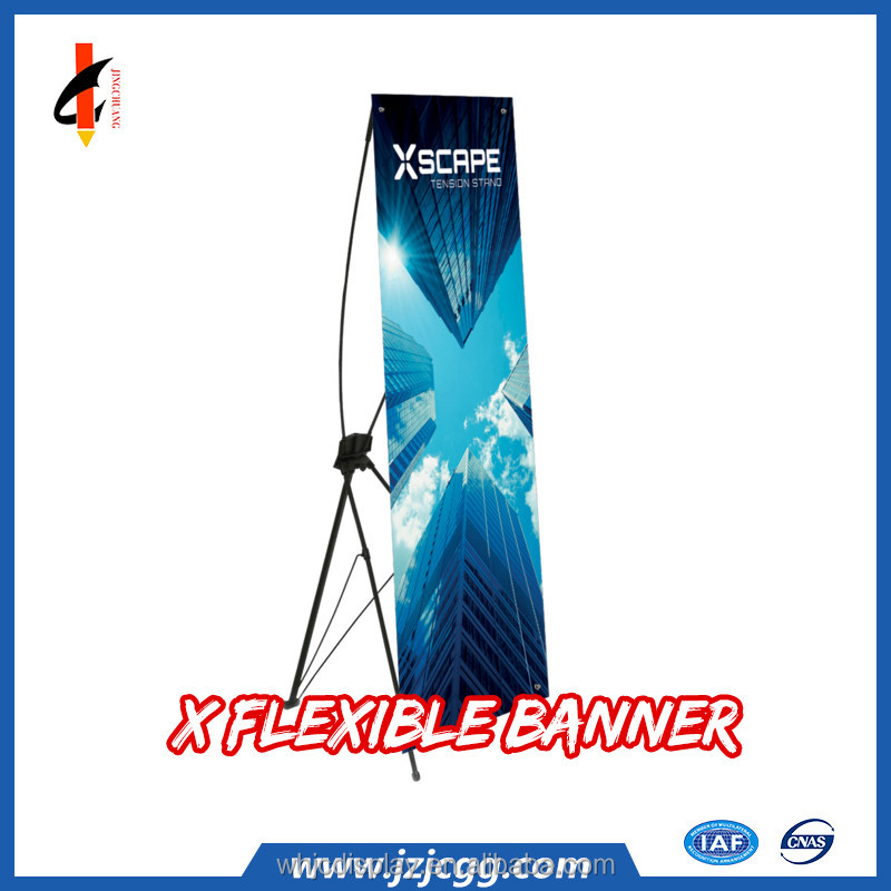 60*180cm economic advertising X banner stand