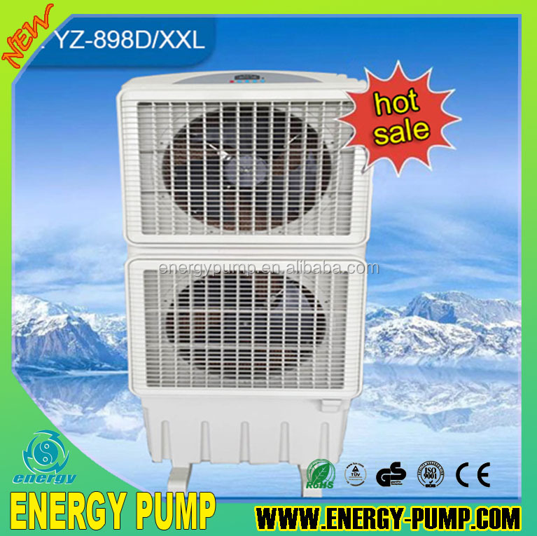YZ-898D /XXL 18000 m3/h three speed industrial portable AC small size evaporative air cooler high efficiency low price