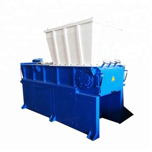 single shaft shredder/plastic lump shredding machine/crate shredder