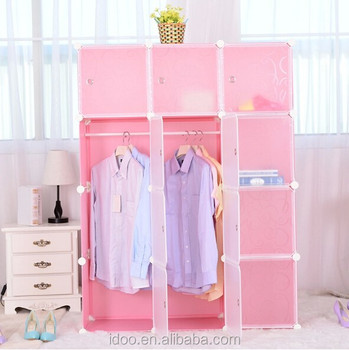 Plastic Portable Wardrobe Office Storage Fh Al0039 12