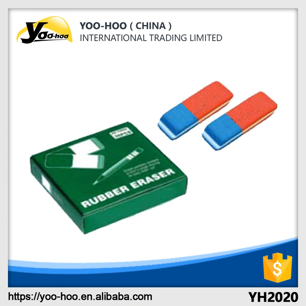School and office stationary Triangle Rubber eraser