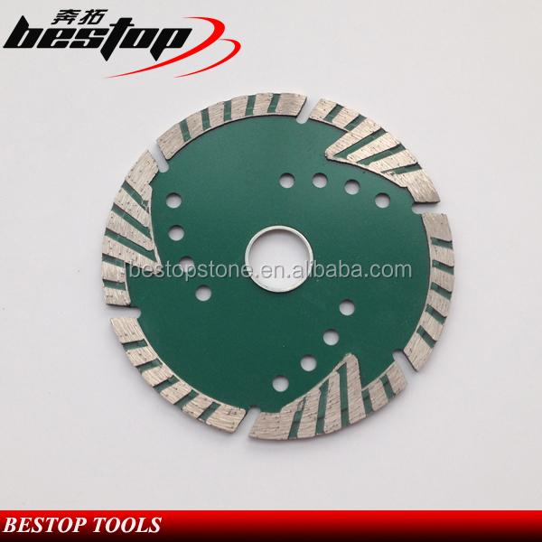 4.5 Inch Diamond Ceramic Saw Blade with Protection Teeth