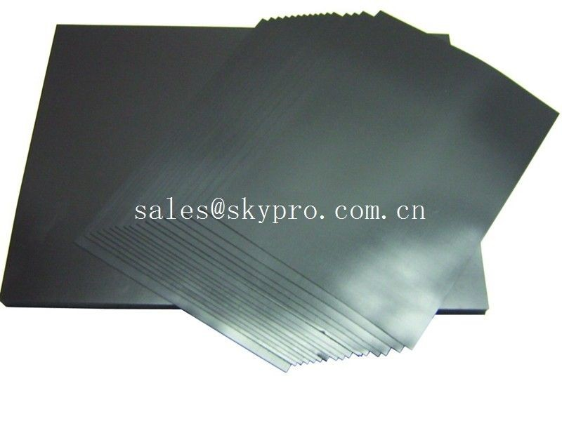 Electrically Conductive Rubber Sheeting Roll With Low Electrical Rubber Sheeting Smooth Neoprene