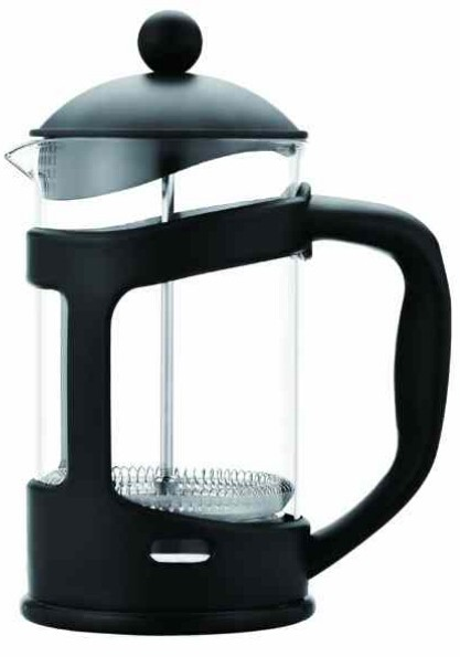 High quality luxury plastic borosilicate glass french coffee press