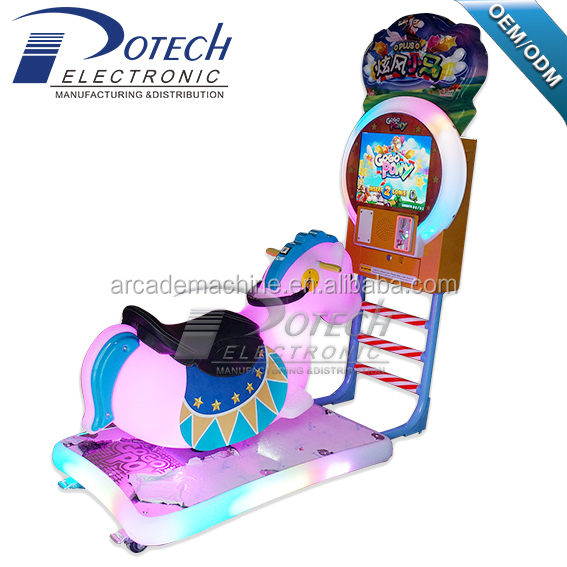 3D swing horse/3D go go pony kiddie rides/crazy racing 3D kiddie rides/kiddie horse ride for sale