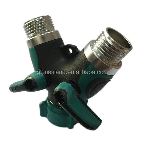 Garden Hose Splitter Buy 3 Way Hose ConnectorY Shaped Hose