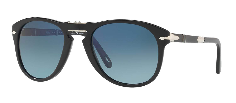 0c9aa49785c Buy New PERSOL Sunglasses Steve McQueen PO 0714 714 95 58 Black ...