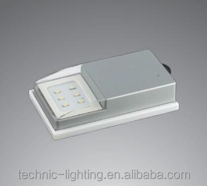 oem batterij aangedreven led cabinet light met top gemonteerde