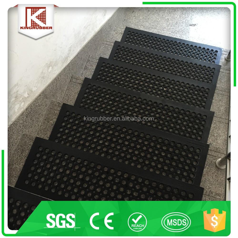 Antideslizante escalera huellas barato estera de goma para escaleras buy alfombra de goma para - Alfombra de goma para piso ...