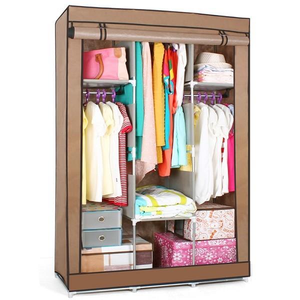 S7 alta calidad y barato portátil dormitorio armario muebles para el ...