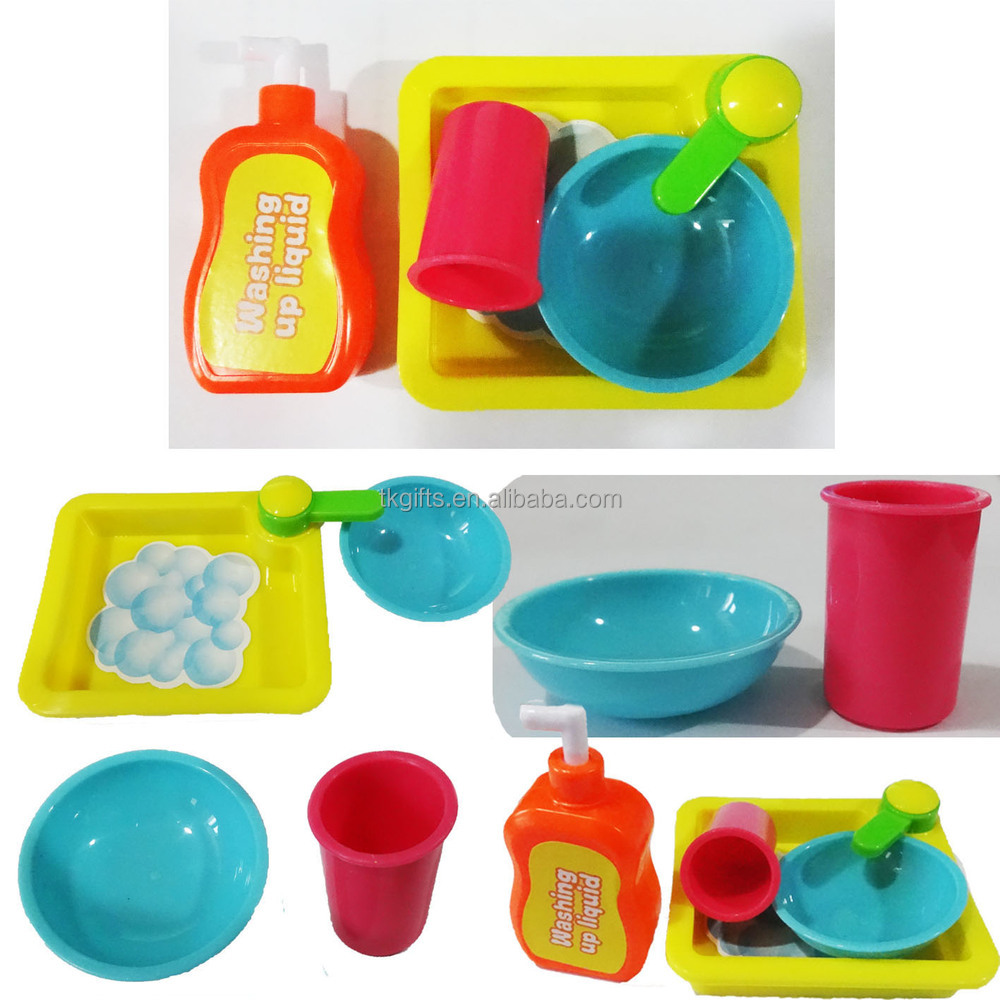 new products toy kitchen sink washing up set game for kid mini ...