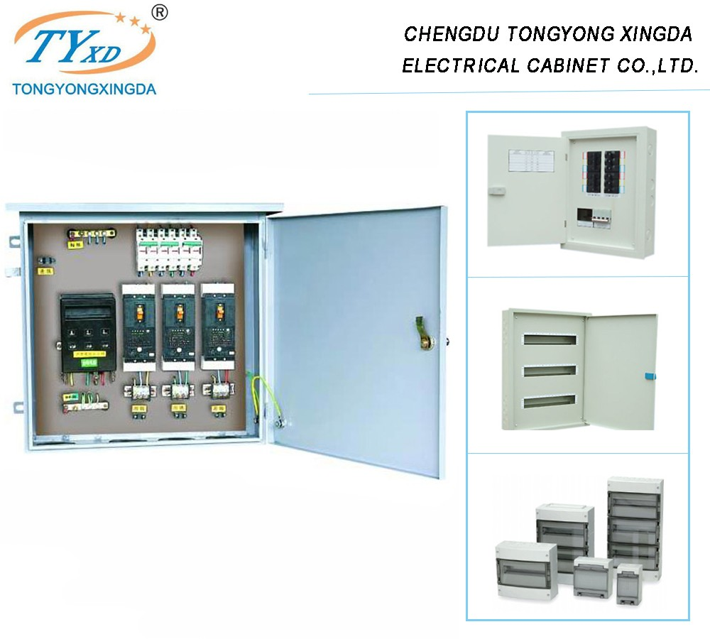 Flush Mounted 3 Phase Mcb Electrical Power Distribution Panel Board Panelboard Wiring Diagram Box