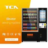 Food fruit salad vegetable Vending Machine with elevator,TCN-D900V-11L